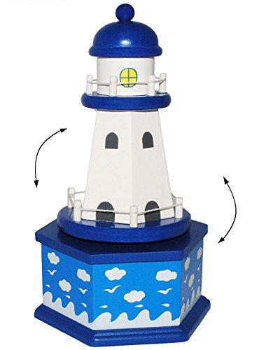 Leuchtturm Musikspieluhr