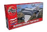 Airfix A06017 1/72 FGR.2 Modellbausatz Mcdonnell Douglas FGR2 Phantom, grau