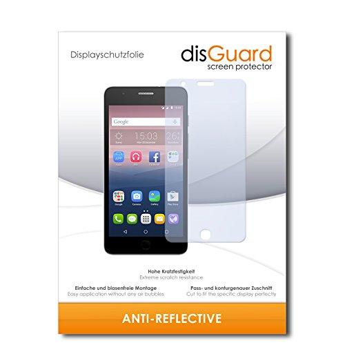 disGuard® Bildschirmschutzfolie [Anti-Reflex] kompatibel mit Alcatel One Touch Pop Up [4 Stück] Entspiegelnd, Matt, Antireflektierend, Extrem Kratzfest, Anti-Fingerabdruck - Panzerglas Folie, Schutzfolie