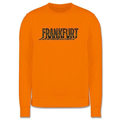 Städte - Frankfurt - Herren Premium Pullover Orange