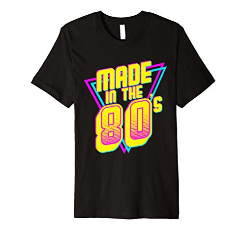 Made In The 80's Geburtstag T-shirt 1983 1986 30th Bday Gift - 1986 T-shirt