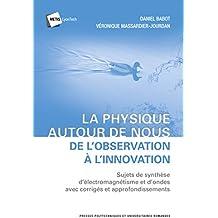 La physique autour de nous : de l'observation à l'innovation : Sujets de synthèse d'électromagnétisme et d'ondes avec corrigés et approfondissements