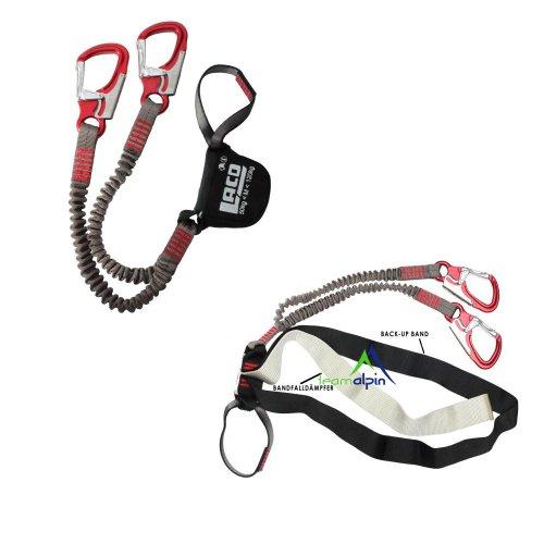 LACD Klettersteigset Pro EVO für 50-120kg Körpergewicht