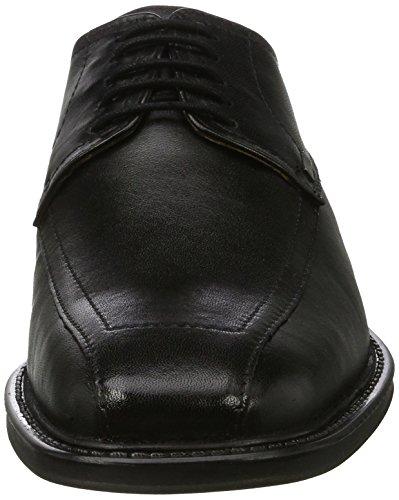 Bugatti 376051, Chaussures À Lacets Pour Homme Noir (schwarz)