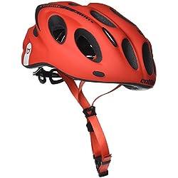 Catlike Kompact'O Casco de Ciclismo, Unisex Adulto, Rojo (Mate), M 55-58 cm