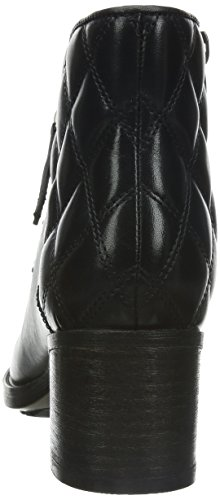 Clarks Movie Retro Damen Kurzschaft Stiefel Schwarz (Black Leather)