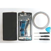 Nuovo Touch Screen Display Full LCD completo con cornice per OnePlus One 1+ A0001, Nero + attrezzi & nastro adesivo