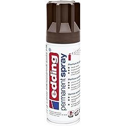 Edding 10052907 Peinture à pulvériser 5200 Chocolat Mat RAL 8017
