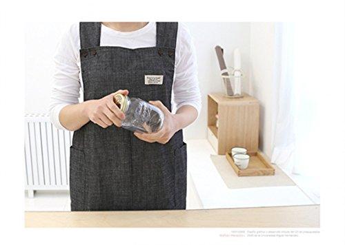 soft-denim-cotton-apron-halter-cross-straps-magic-velcro-big-size-aprons-with-pocket-kitchen-cooking