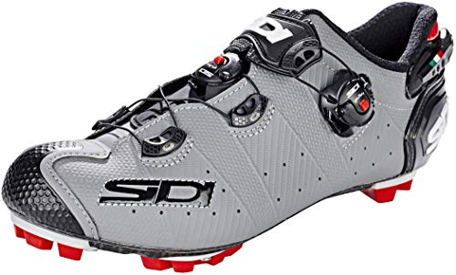 Sidi MTB Drako 2 SRS Shoes Men Matt Grey/Black Schuhgröße EU 46 2019 Schuhe