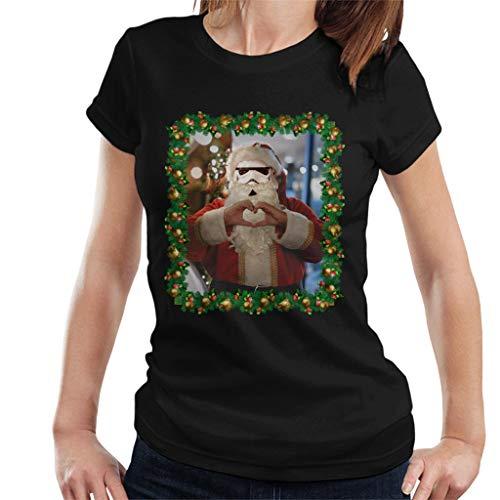 Original Stormtrooper Trooper Santa Christmas Women's T-Shirt