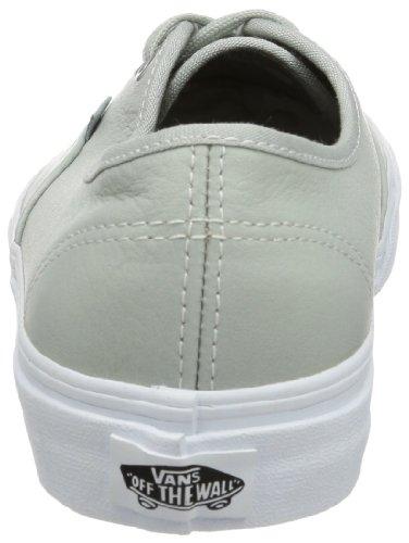 Vans U AUTHENTIC VTSV8H1 Unisex-Erwachsene Sneaker Grau ((Aged Leather) mirage gray)