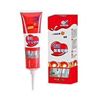 achievr Mold Remover Gel, Anti-Odor Remover Cleaning Gel, Remover Gel, Household Miracle Deep Down Wall Remover Cleaner Caulk Gel, Kitchen and Bathroom Japanese Formula
