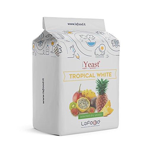 Lievito Enologico selezionato–Tropical White iyeast®–0,05kg–Lievito para obtener/fermentación/Vino