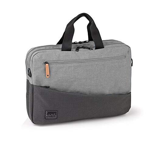RONCATO Unisex-Erwachsene Adventure Biz Laptop Tasche, Grau (Grigio (02)), 29x41x13 Centimeters