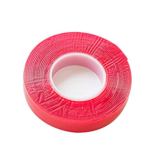 No Trace-Aufkleber - Double Sided Auto Band Wasserdicht Hitzebeständige Transparent Aufkleber für Auto-Fahrenrecorder Wandaufkleber Strong Adhesive-30mm * 3m -