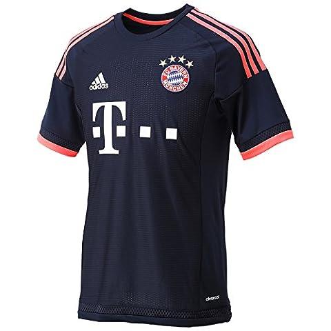 Adidas FC Bayern München 3rd UCL Trikot 2015/2016 night navy-flash red - XL