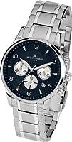 Jacques Lemans 1-1654K - Reloj de pulsera hombre, acero inoxidable, color plateado de Jacques Lemans