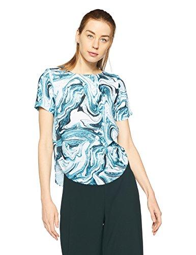 Allen Solly Women's Regular Fit Synthetic Shirt