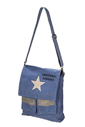 """GD_Umhängetasche \""""Star\"""" Überschlagtasche \""""Emotional Baggage\"""" von CH Trading"""