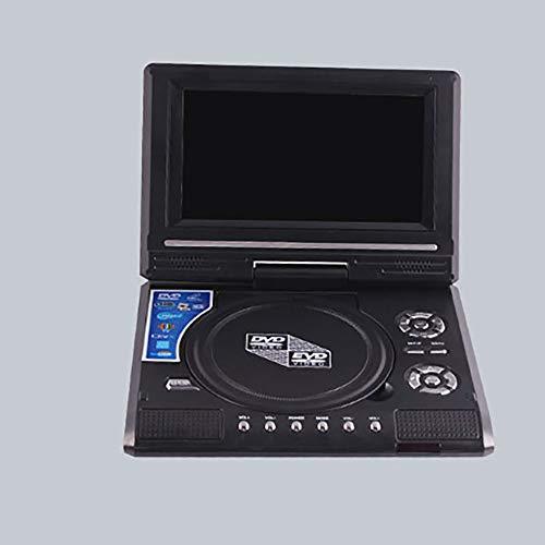 Mouchao Tragbarer HD 7,8 Zoll mobiler DVD-Player Spiel-TV-Player