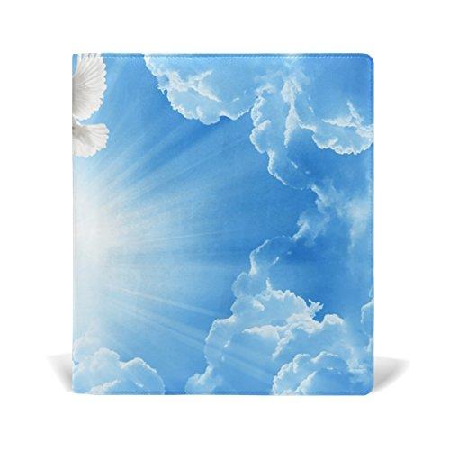 tizorax Peace Tauben Sky Blau dehnbar Buch