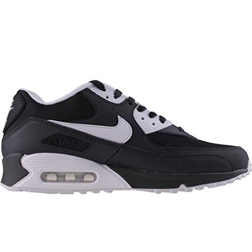Nike Air Max 90 Essential, Scarpe da Ginnastica Uomo Nero (Anthracite/white Black 089)