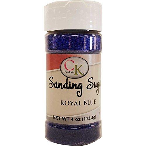 CK Produkte 78-505E Kuchen dekorieren Schleifen Zucker Flasche, 4oz, Royal Blau