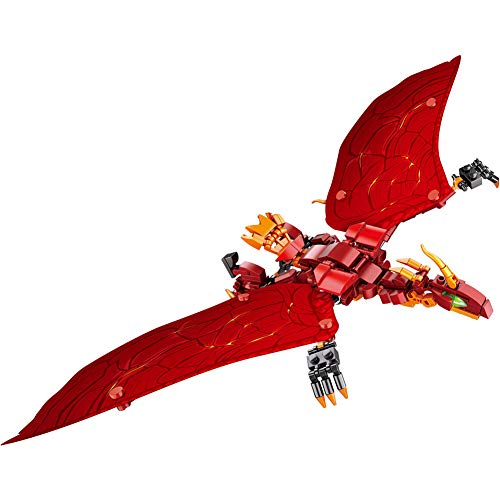 Yyz Film Monster King Dinosaurier Modell Kinder Puzzle zusammengebaut Baustein Spielzeug Geburtstagsgeschenk - Film-monster-spielzeug