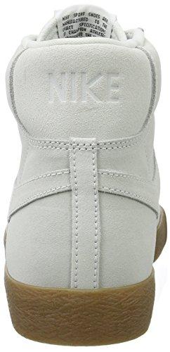 Nike Blazer Mid, Baskets Homme Blanc (Off White/off White-gum Lt Brown)