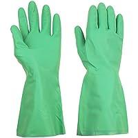 thxtoms hogar guantes de nitrilo, eficazmente resistir aceite, ácido, álcali y disolvente, 1par