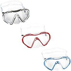 Bestway Hydro hrm-Swim Clear Sea Masque de plongée pour Enfant, Multicolore, à partir de 7Ans