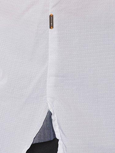 BOSS Orange Herren Freizeithemd 10195837 01 Weiß