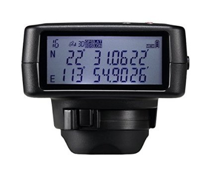 Solmeta Geotagger GMAX, Kamera GPS Empfänger für Nikon D810, D800, D800E, D4, D3-Serie, D700, D300S, D300, D2x, D2xs, D2Hs, D200 Nmea-anzeige