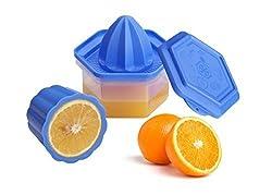 Unique Store Nestwell Orange Juicer Manual Portable Fruit Lemon Juicer Mixer