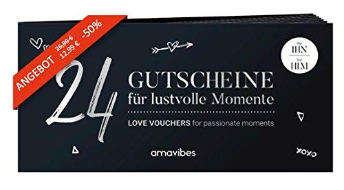 Premium Gutscheinheft für Männer ✔ 24 Liebesgutscheine ✔ erotisches Ostergeschenk ❤ für mehr Spaß, Erotik und Liebe
