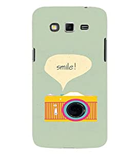 EPICCASE Smile Mobile Back Case Cover For Samsung Galaxy Grand Max (Designer Case)