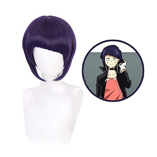 ALTcompluser My Hero Academia Kyoka Jiro Cosplay Wig Perücke, Zubehör für Anime Party Verrücktes Kleid Merchandise