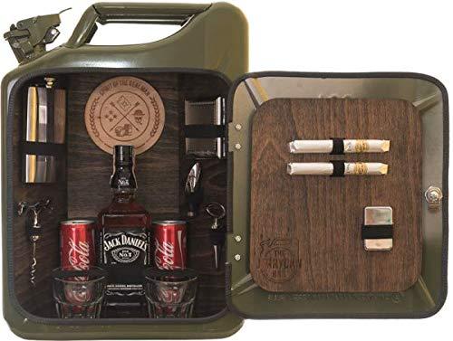 Die Minibar für echte Kerle Männer/JerryCan/Kanister Bar/Männerhandtasche