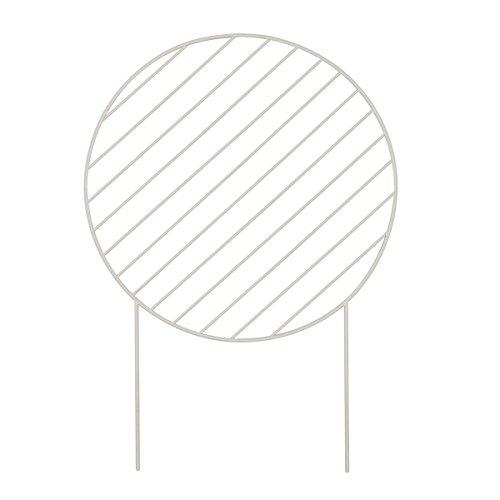 Plant Wall - Circle - Grey