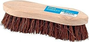 Heavy Duty hard bristle scrubbing brush. 22cms long