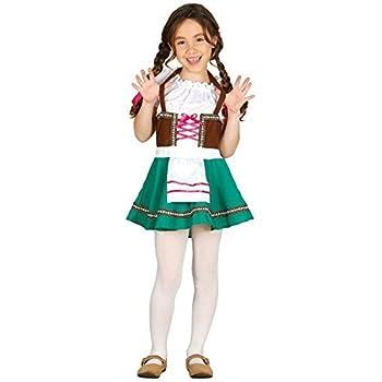 Bavarian Princess Costume World Book Day Week Girls Childrens Fancy Dress Age 4