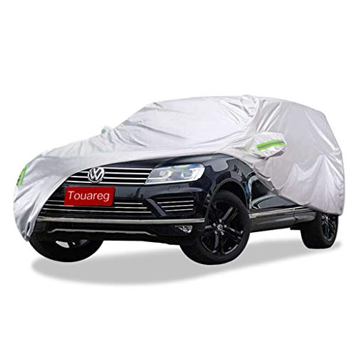 SXET-Car cover Car cover Volkswagen Touareg SUV special Car dust cover Windshield scratch-proof Sun screen rainproof Snow Four Sea