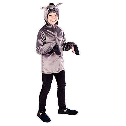 Kostüm Joseph Children's - Fun Shack FNK4579S Kostüm, Unisex Children, Nativity Donkey, Größe S