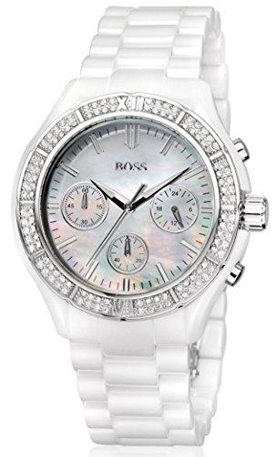 Hugo Boss Damen-Armbanduhr Analog Quarz Edelstahl 1502355