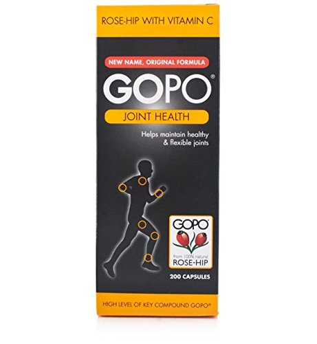 Gopo Rose Hip Joint Health Vitamin C Capsules – Pack of 200