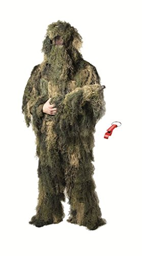 GHILLIE SUIT ANTI FIRE WOODLAND FADENGHILLIE XL-XXL -