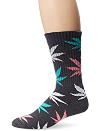 CHAUSSETTES HUF PLANTLIFE CREW CHARCOAL - Taille unique