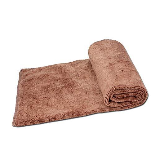 ZHL Auto-Reinigungstuch, Mikrofaser-Reinigungstücher, die super saugfähiges Tuch für das Wäschewachsen-Polieren und das Trocknen Schleifen, das Tuch einzeln aufführt,Coffe -