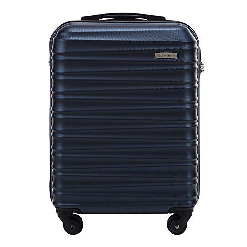 WITTCHEN Bagaglio a mano | Colore: Blu | Materiale: ABS | Dimensioni: 20x54x38 | Peso: 2,6 kg | Capacità: 34 L - 56-3A-311-90